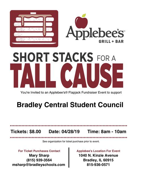 applbee's breakfast fundraiser