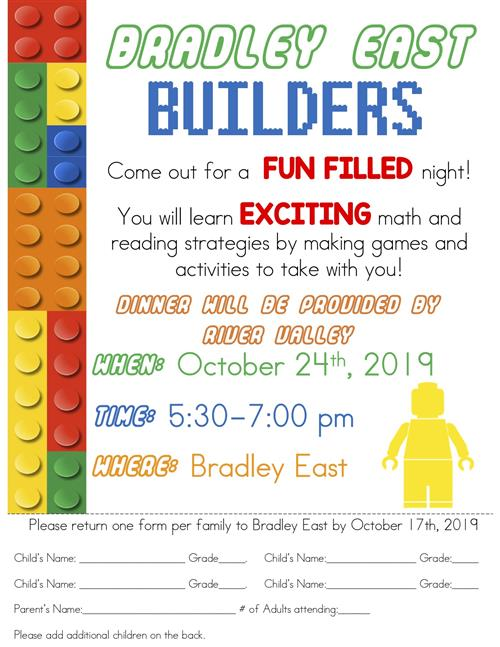 Bradley East Make and Take Night