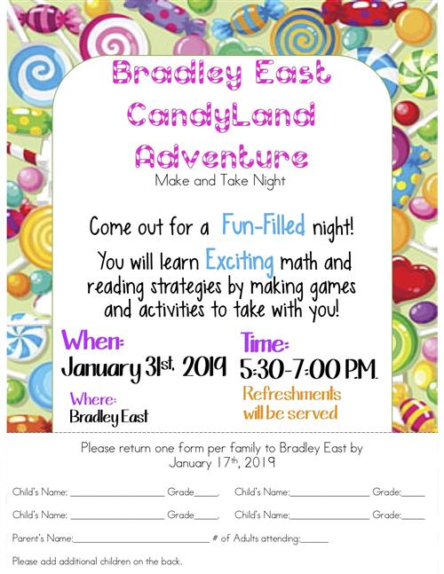 Bradley East CandyLand Adventure